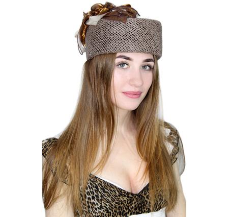 """Шляпка-таблетка """"Алесса"""""""